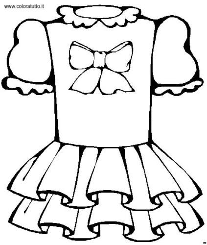Abbigliamento Immagine Da Colorare N 18237 Cartoni Da Colorare