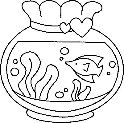 acquari pesciolini immagine da colorare n. 8176
