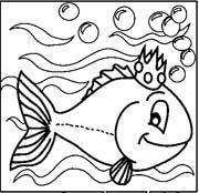acquari pesciolini immagine da colorare n. 8177