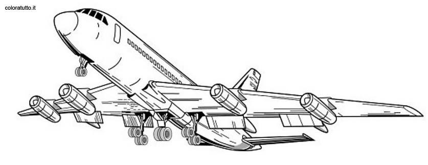 disegni da colorare di aerei