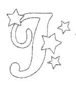 alfabeto natale immagine da colorare n. 27894