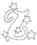 alfabeto natale immagine da colorare n. 37615