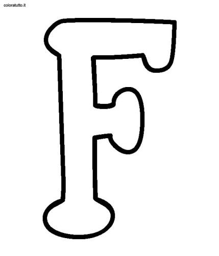 Extrêmement alfabeto stampatello maiuscolo immagine da colorare n. 7391  DE47