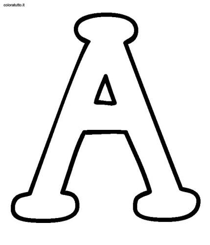 Extrêmement alfabeto stampatello maiuscolo immagine da colorare n. 7949  DE47