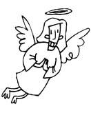 angeli natale immagine da colorare n. 24724