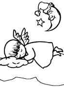 angeli natale immagine da colorare n. 24729
