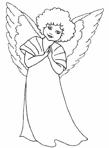 Disegni Di Natale Disegni Angeli