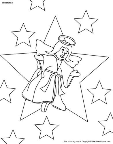 Angeli Immagine Da Colorare N 22865 Cartoni Da Colorare