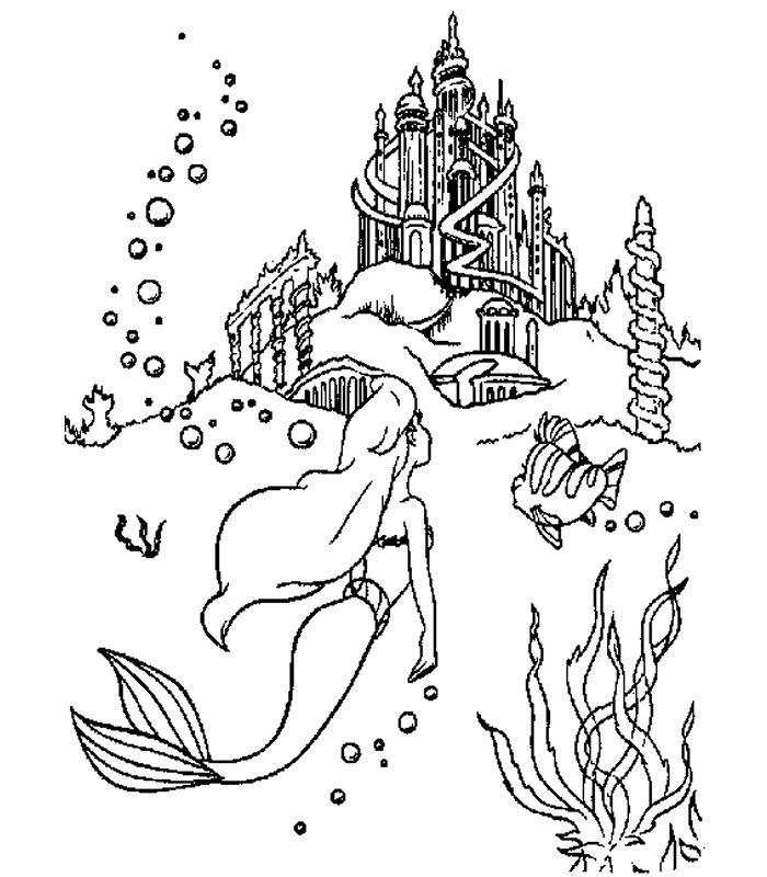 ariel immagine da colorare n. 26436