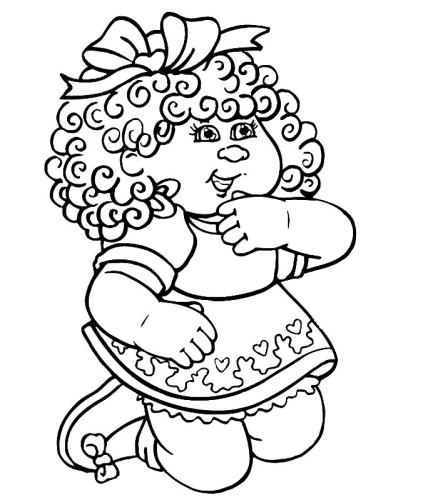 Bamboline Immagine Da Colorare N 3011 Cartoni Da Colorare