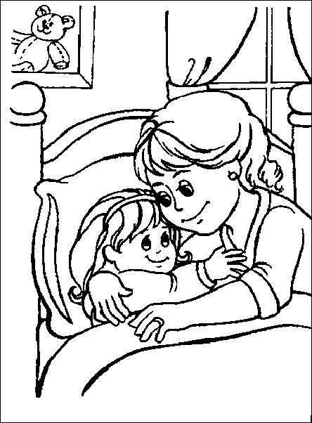 Buonanotte bambini immagine da colorare n 22809 cartoni for Buonanotte cartoni