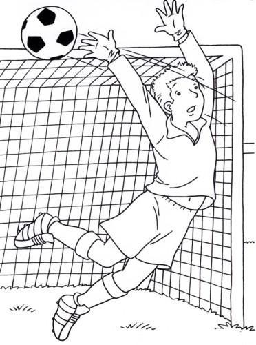 Calcio Immagine Da Colorare N 15487 Cartoni Da Colorare