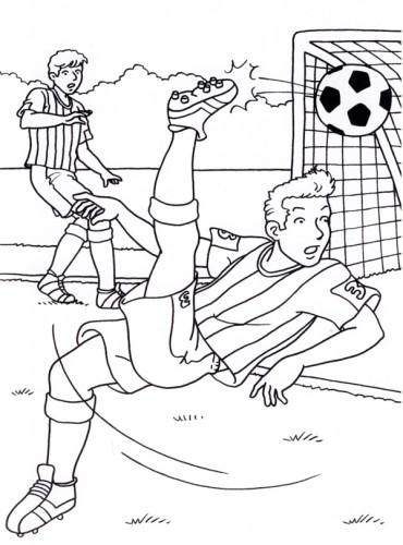 Calcio Immagine Da Colorare N 19563 Cartoni Da Colorare