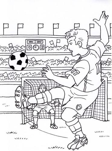 Calcio Immagine Da Colorare N 19564 Cartoni Da Colorare