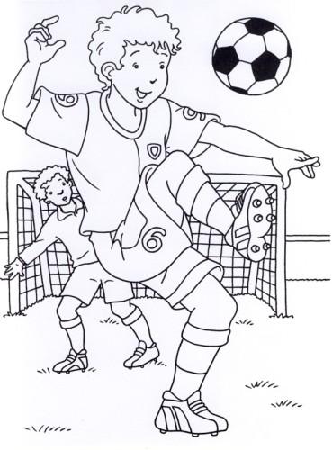 Calcio Immagine Da Colorare N 21110 Cartoni Da Colorare