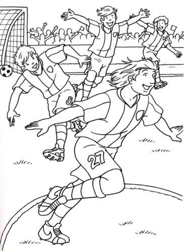 Disegni Da Colorare Partita Di Calcio.Calcio Immagine Da Colorare N 22751 Cartoni Da Colorare