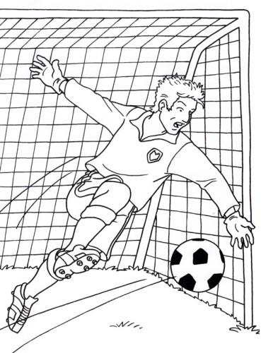 Calcio Immagine Da Colorare N 22768 Cartoni Da Colorare
