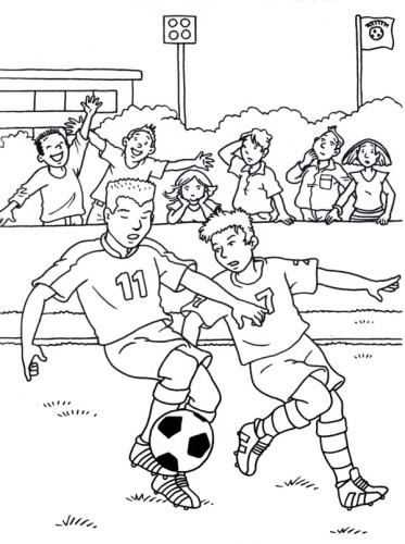 Calcio Immagine Da Colorare N 25000 Cartoni Da Colorare