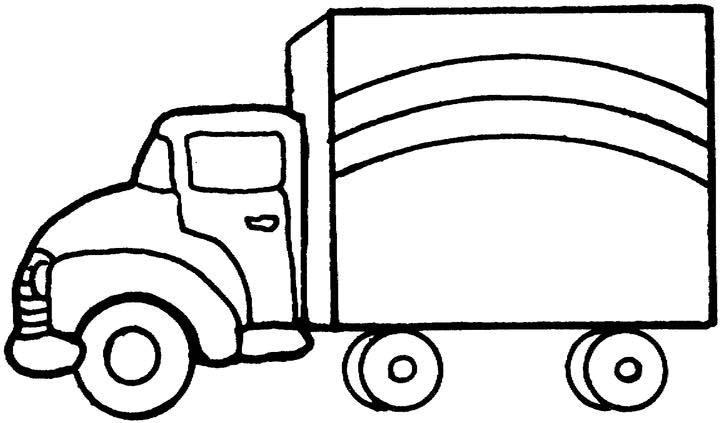 Camion Immagine Da Colorare N 30039 Cartoni Da Colorare