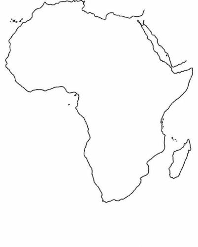 Cartina Dell Africa Da Colorare Pieterduisenberg