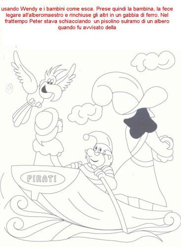 Colora Fiaba Peter Pan Immagine Da Colorare N 30139 Cartoni Da