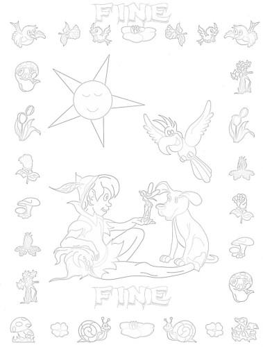 Immagini da colorare colora fiaba peter pan pagina 4 di - Peter pan colorare pagina di colorazione ...