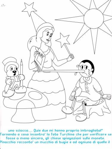 Colora Fiaba Pinocchio Immagine Da Colorare N 20354 Cartoni Da