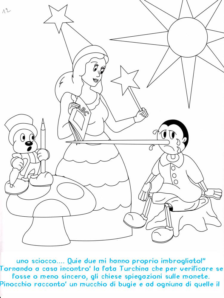 Favola Di Pinocchio Da Colorare Pastoorvanarskijkduin