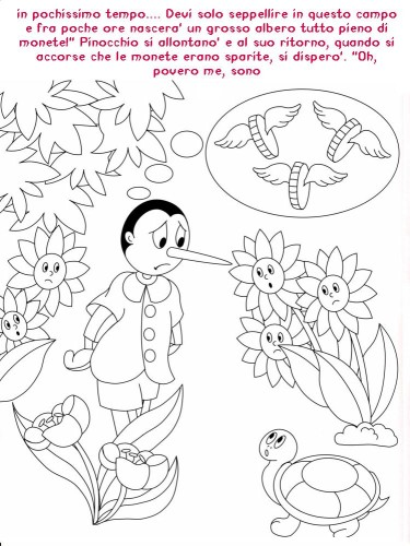 Colora Fiaba Pinocchio Immagine Da Colorare N 20373 Cartoni Da