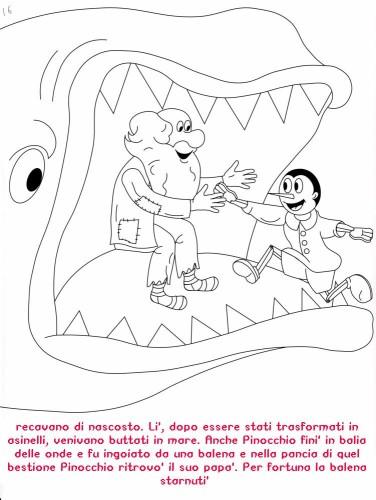 Colora Fiaba Pinocchio Immagine Da Colorare N 20377 Cartoni Da