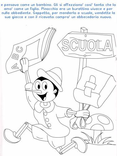 Colora Fiaba Pinocchio Immagine Da Colorare N 20378 Cartoni Da