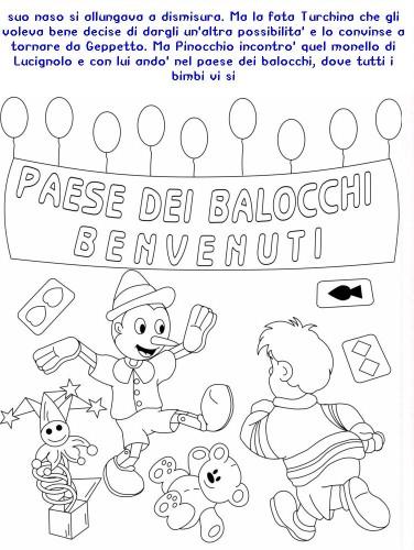 Colora Fiaba Pinocchio Immagine Da Colorare N 20384 Cartoni Da