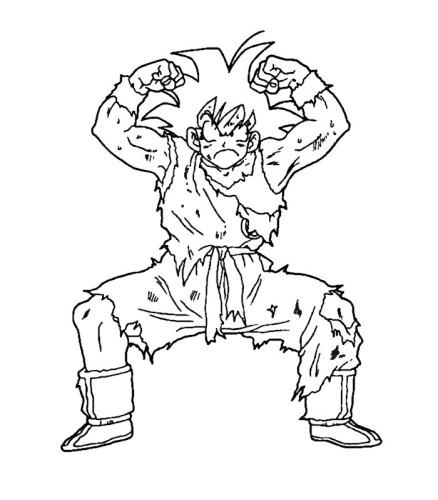 Dragon Ball Z Immagine Da Colorare N 8863 Cartoni Da Colorare