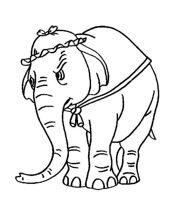 List Of Pinterest Elefantino Disegno Da Colorare Images Elefantino