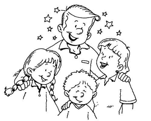 Famiglia Immagine Da Colorare N 29903 Cartoni Da Colorare
