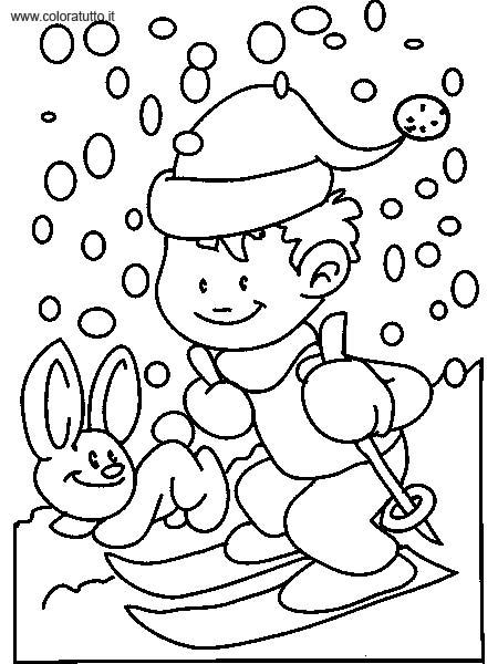inverno immagine da colorare n 29629 cartoni da colorare