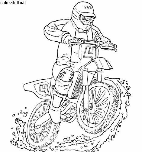 Moto Immagine Da Colorare N 2207 Cartoni Da Colorare