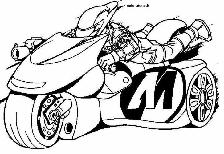 Moto Immagine Da Colorare N 24178 Cartoni Da Colorare