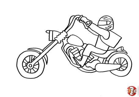 Moto Immagine Da Colorare N 24179 Cartoni Da Colorare