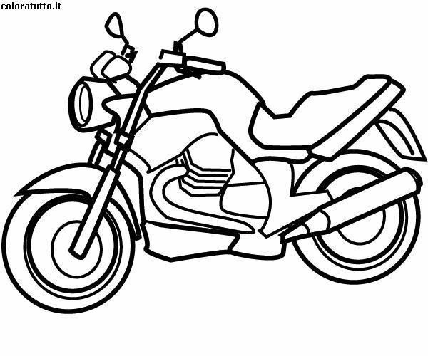 Moto Immagine Da Colorare N 6827 Cartoni Da Colorare