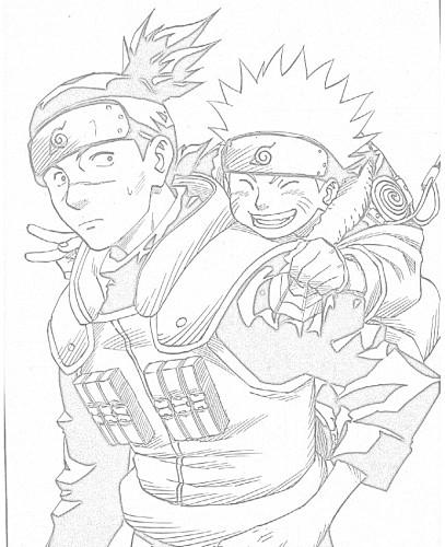 Immagini Da Colorare Naruto Cartoni Da Colorare