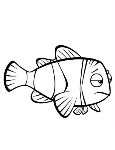 Nemo Immagine Da Colorare N 32088 Cartoni Da Colorare