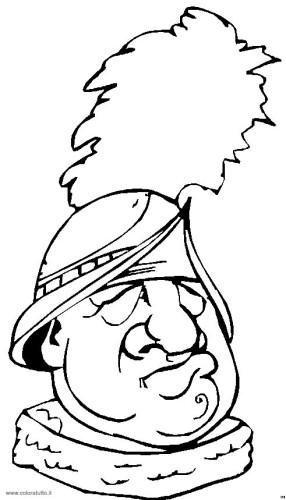 Personaggi Cappello Immagine Da Colorare N 21778 Cartoni Da Colorare