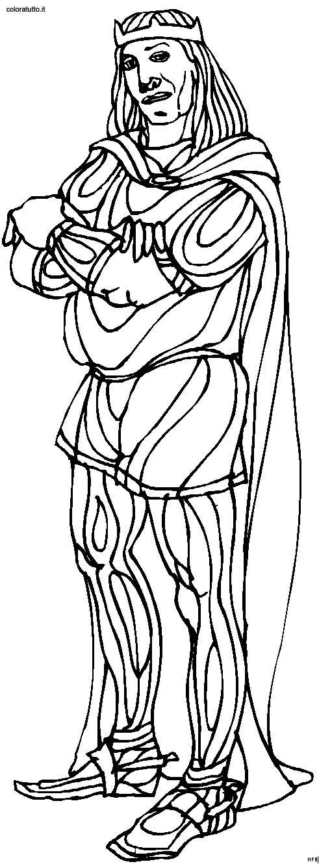 personaggi storici immagine da colorare n. 27585