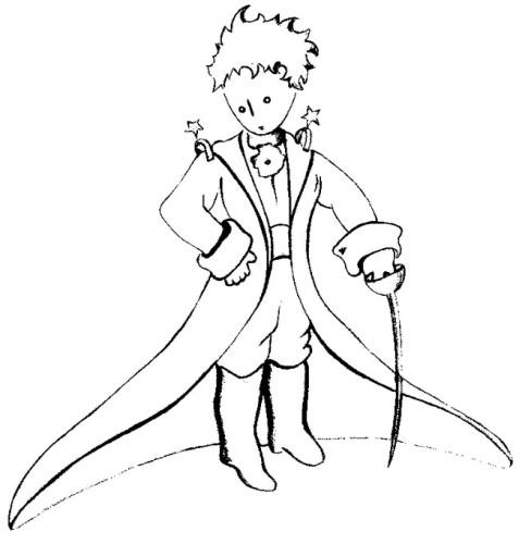 Piccolo Principe Immagine Da Colorare N 3228 Cartoni Da Colorare