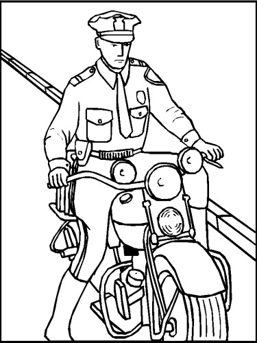 Polizia Da Colorare Onthisdayinoregon