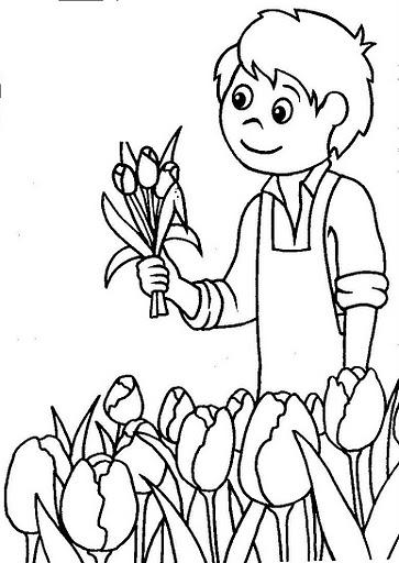 primavera immagine da colorare n. 533