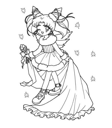 Immagini Da Colorare Sailor Moon Cartoni Da Colorare