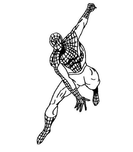 Immagini da colorare spiderman cartoni da colorare for Immagini da colorare spiderman