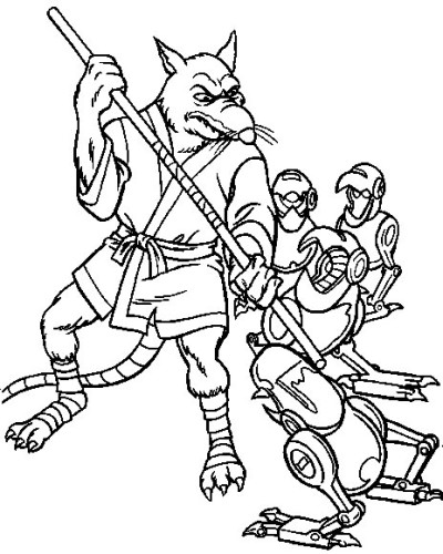 Tartarughe Ninja Immagine Da Colorare N 10183 Cartoni Da